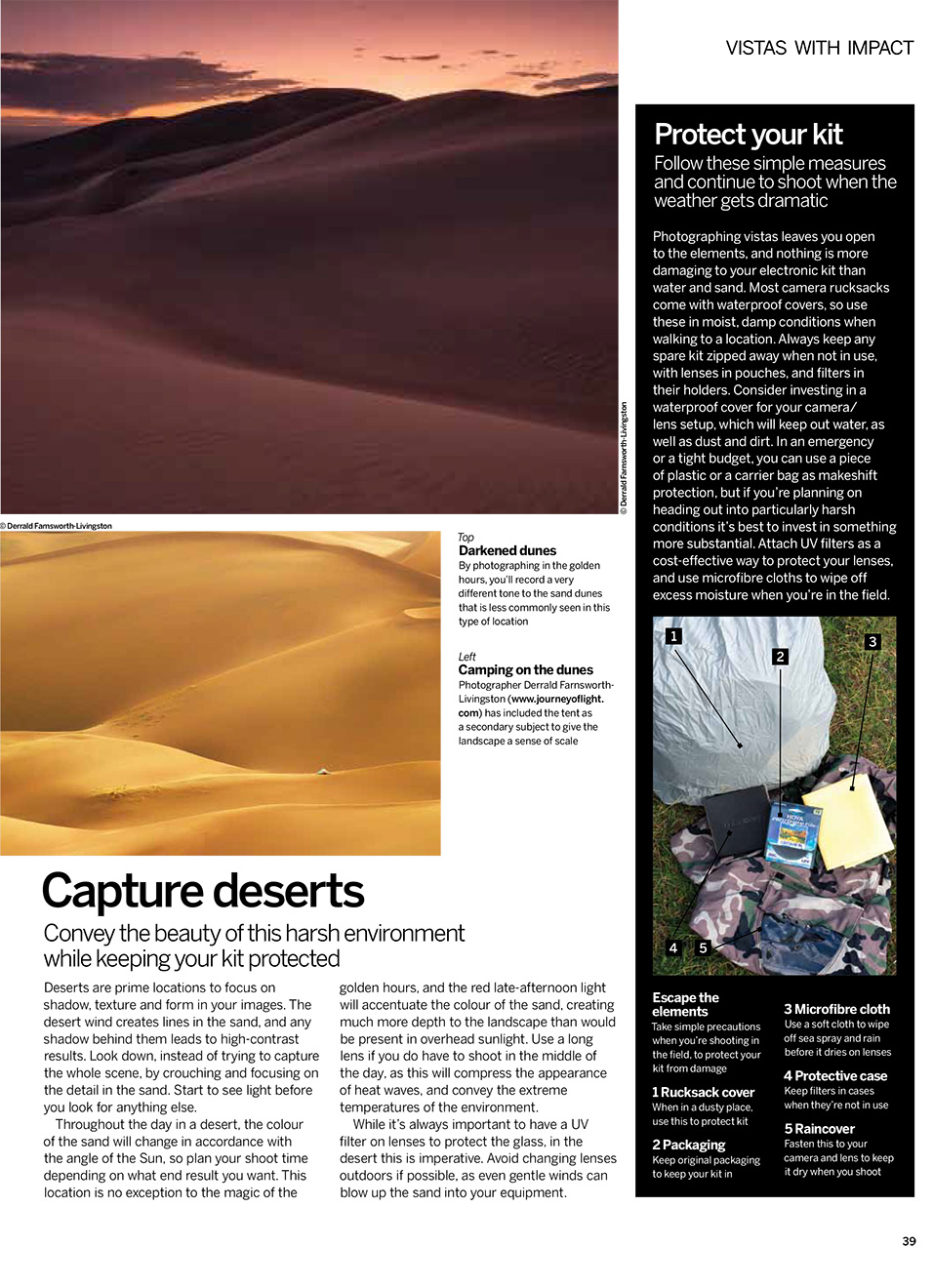 Vistas With Impact - Digital Photographer UK Article.  Contributed Photography (3 images). -  Picture